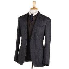 NWT $1795 BOGLIOLI Slim-Fit Gray Patterned Wool-Cashmere Sport Coat 38 R