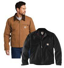 Nueva chaqueta para hombre carhartt Duck Detroit Trabajo Abrigo CT103828-Elige Tamaño Y Color