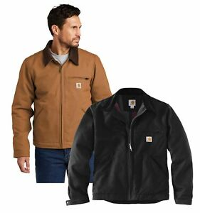 New Mens Carhartt Duck Detroit Jacket Work Coat CT103828 - Pick Size and Color