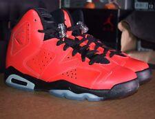 DS 2014 Air Jordan 6 VI Retro 'Infrared 623' 384665-623  |  Size 4.5Y, Red/Black