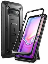 Galaxy S10 Case Rugged Holster, SUPCASE Unicorn Beetle PRO Shockproof Cover CASE