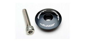 "Zipp Aluminium Stem / Headset Top Cap with T25 Bolt - Black - 1 1/8"""