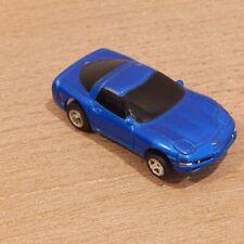 HO SLOT CAR Life-Like Blue Corvette
