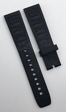 Authentic Breitling Diver Pro 3 20mm x 18mm Black Rubber Strap Band 150S OEM