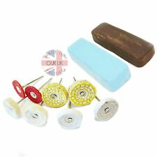 Dremel Style Detailed Alloy Polishing Kit45 Scratch& Rust Removal to High Shine