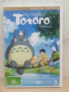 Totoro DVD My Neighbor Totoro - Howls Moving Castle's Director ANIME MOVIE