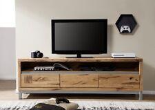 tv element lowboard 170cm wildeiche eiche massiv geolt holz neu ovp