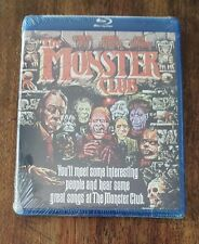 NEW The Monster Club Blu-ray Disc (2013) US Original Release Scorpion ITV