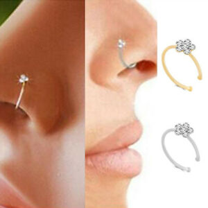 Septum Ring Piercing Tragus Helix Cartilage Earring Nose Jewelry Fashion