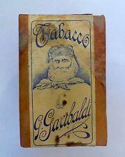 Paquet tabac Tabacco Garibaldi Manifatture FJ Burrus Boncourt Svizzera Suisse