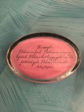 Ben's Garden Audrey Hepburn Pink I believe in miracles Desk Paperweight J1