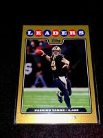 R3434 - DREW BREES - 2008 TOPPS - #287 - GOLD - #1935/2008 - SAINTS -