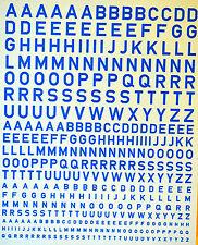 lettres capitales bleu clair Big-Letters light-blue 1:43
