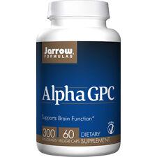 Jarrow Formulas Alpha GPC 300mg - 60 Vegetarian Capsules