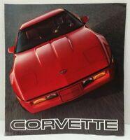 1985 Chevrolet CORVETTE OEM Dealer Sales Brochure ORIGINAL - 85 Chevy Literature