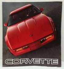 1985 Chevrolet CORVETTE Sales Brochure ORIGINAL 85 Chevy Literature OEM