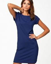 FILIPPA. K Blue Short Sleeve Zip Pocket Tunic Shift Dress - Large VGC