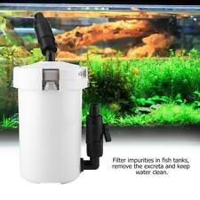 Aquarium External Canister Filter Table  Fish Tank Filter with Pump and Pipes