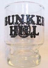 BATTLE OF BUNKER HILL,  MASS   CANNON    SHORT SHOT GLASS