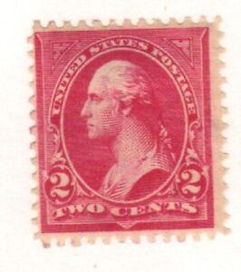 Scott # 267 very nice George Washington hinged