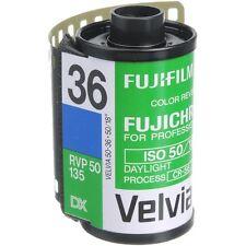 5 Rolls Fuji Fujifilm Velvia 50 35mm 36 Exp E6 Slide Film