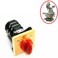 1X BRIDGEPORT Milling Machine Part Forward Reverse 3 Phase Motor Mill Switch