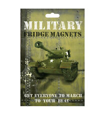 Military Fridge Magnets by The Monster Factory