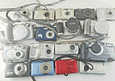 For Parts Lot 17 Digital Cameras kodak dc280 Samsung kodak Canon sony cyber-shot