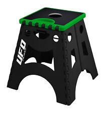 UFO Moto MX Motocross Fold Out Foldable Bike Paddock Box Stand Green Black