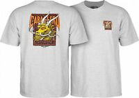 Powell Peralta Steve Caballero GOLD DRAGON AND BATS T Shirt ASH XL