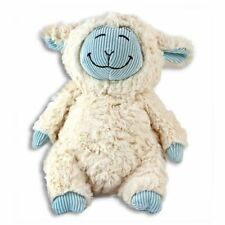 "Lammy-Do Lamb Plush Stuffed Animal Cream Blue Soft 10"" New"