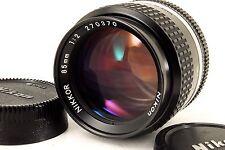 283 Nikon Ai-S NIKKOR 85mm f/2 ***EXC+++*** Ai S
