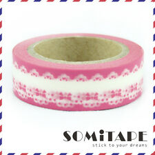 Pink Bows Washi Tape, Craft Decorative Tape