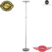 Led Floor Lamp Standing Pole Room Torch Light Energy Saving Adjustable Dimmable