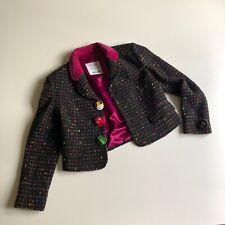 Vintage Womens Moschino Cheap and Chic Wool Blazer Jacket size us 10 / uk 14