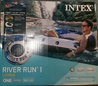 Intex River Run Connect Lounge Inflatable Floating Water Tube