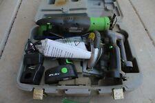 Kawasaki Cordless 4 PC Tool Set in Case, 21.6V, T&W