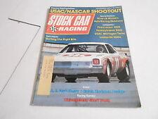 NOV 1973 - STOCK CAR RACING vintage magazine - USAC NASCAR SHOOT OUT