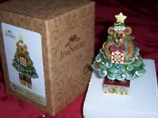 Jim Shore Charlie Givingifts.Oh Christmas Tree Boyds Figurine, New 2009