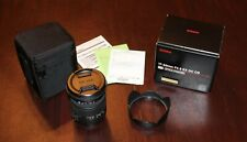 Sigma 17-50mm f/2.8 EX DC OS HSM Lens for Canon - Xlnt w/ Box, Docs, Case, Hood