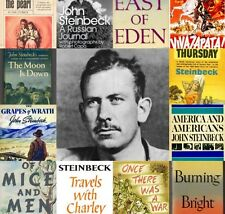 John Steinbeck Audio Book Collection 26 Titles MP3 DVD 210 Hours + ebooks