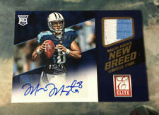 Marcus Mariota 2015 Elite New Breed Patch/Auto RC 2/25 Titans - Ships FREE!