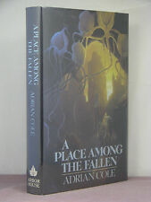 1st,signed by author,Omaran Saga 1:A Place Among the Fallen by Adrian Cole(1987)