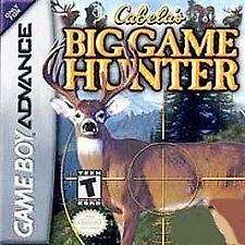 Cabelas Big Game Hunter 2005 Adventures, Good Game Boy Advance,Game Boy Advanc V