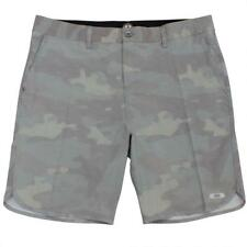 Oakley CRATER AMPHIBIAN Boardshorts Size 32 M Camo Green Mens Surf Beach Shorts