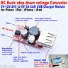 DC-DC Buck Step Down Converter 9-40V 12V/24V to 5V 2A Car USB Charger Module DIY