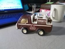 1982 BUDDY L HERSHEY'S KISSES DELIVERY TRUCK 5 INCHES LONG BROWN
