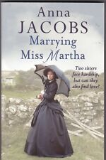 ANNA JACOBS: MARRYING MISS MARTHA, NEW PAPERBACK BOOK