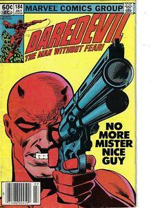 Daredevil 184 Punisher VG/F 1982 Miller Art Glossy