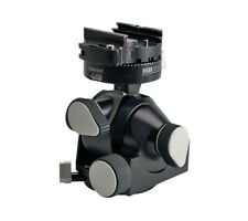 Arca Swiss D4 Geared Tripod Head with Quickset Fliplock Device